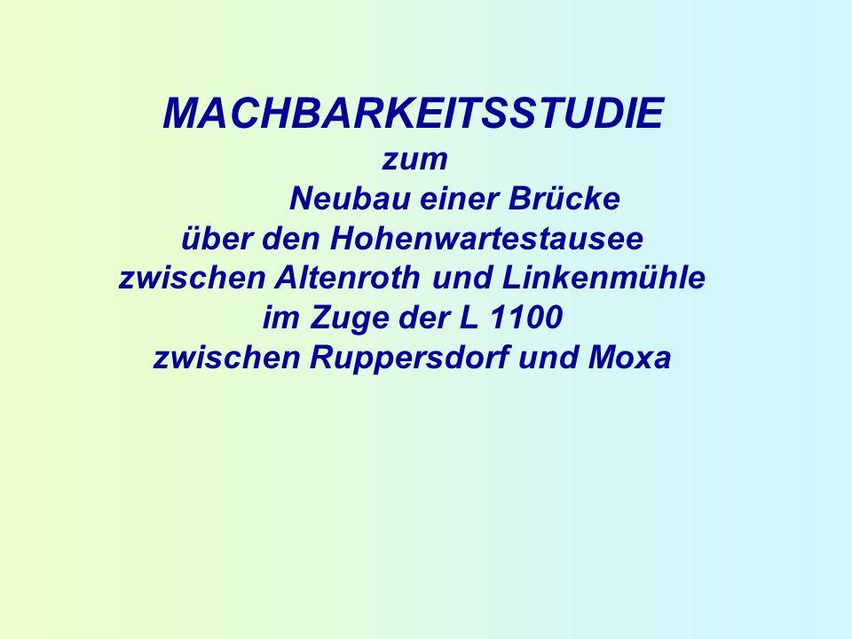 MACHBARKEITSSTUDIE zum