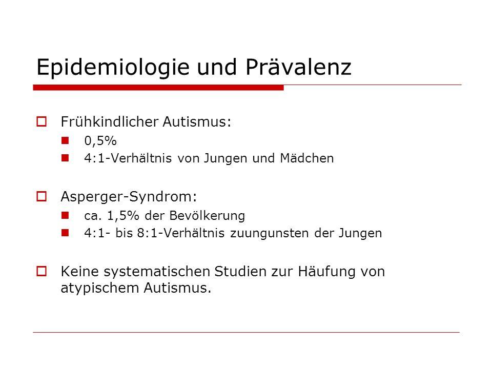 Epidemiologie und Prävalenz