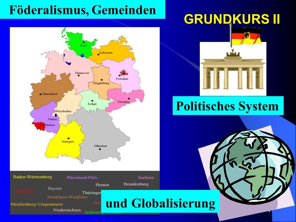 Föderalismus, Gemeinden