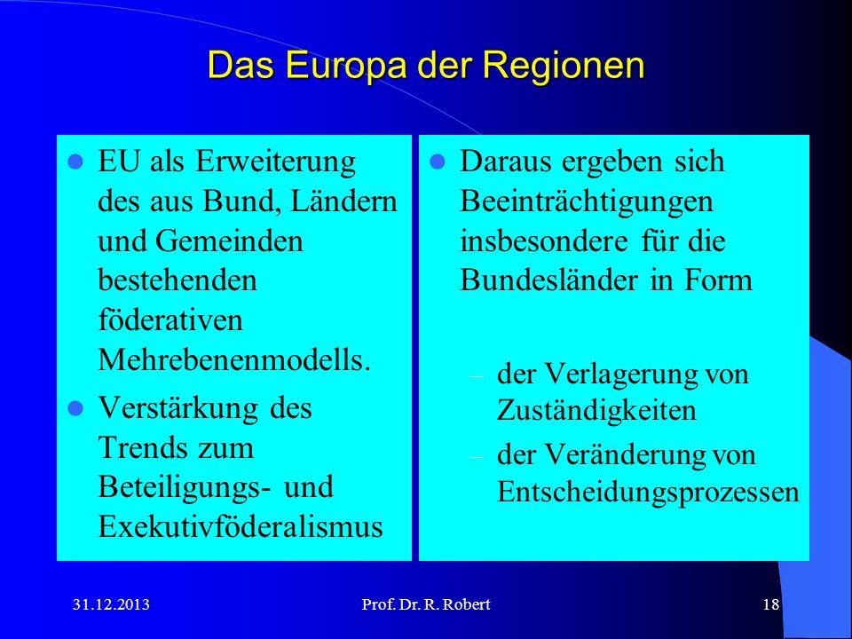 Das Europa der Regionen