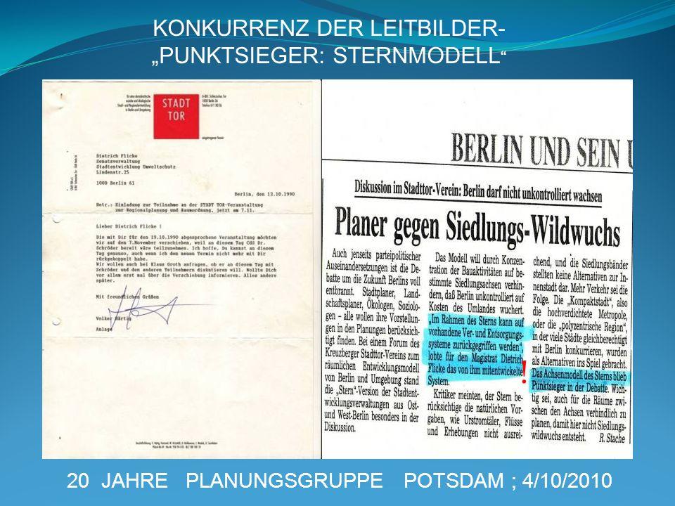 """! KONKURRENZ DER LEITBILDER- """"PUNKTSIEGER: STERNMODELL"""