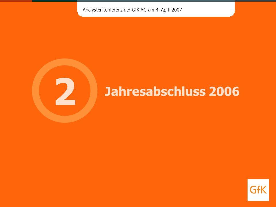 2 Jahresabschluss 2006