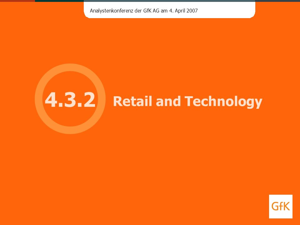 4.3.2 Retail and Technology