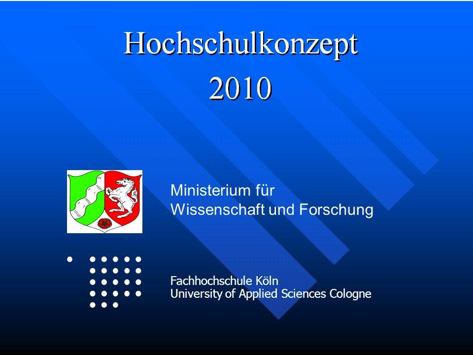 Logo Ministerium für Wissenschaft und Forschung Fachhochschule Köln