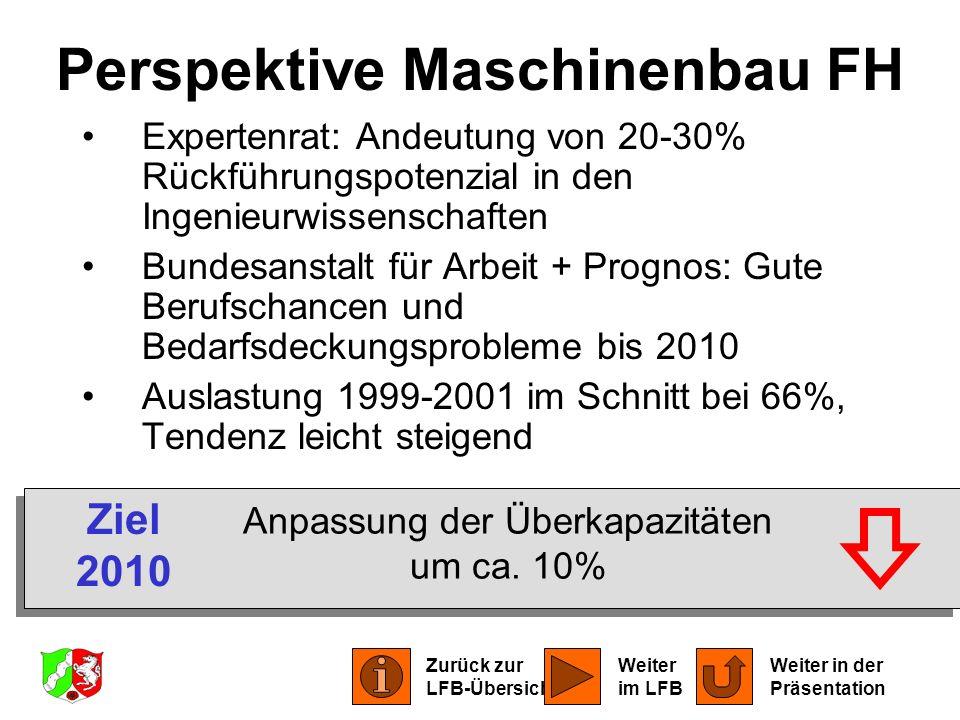Perspektive Maschinenbau FH