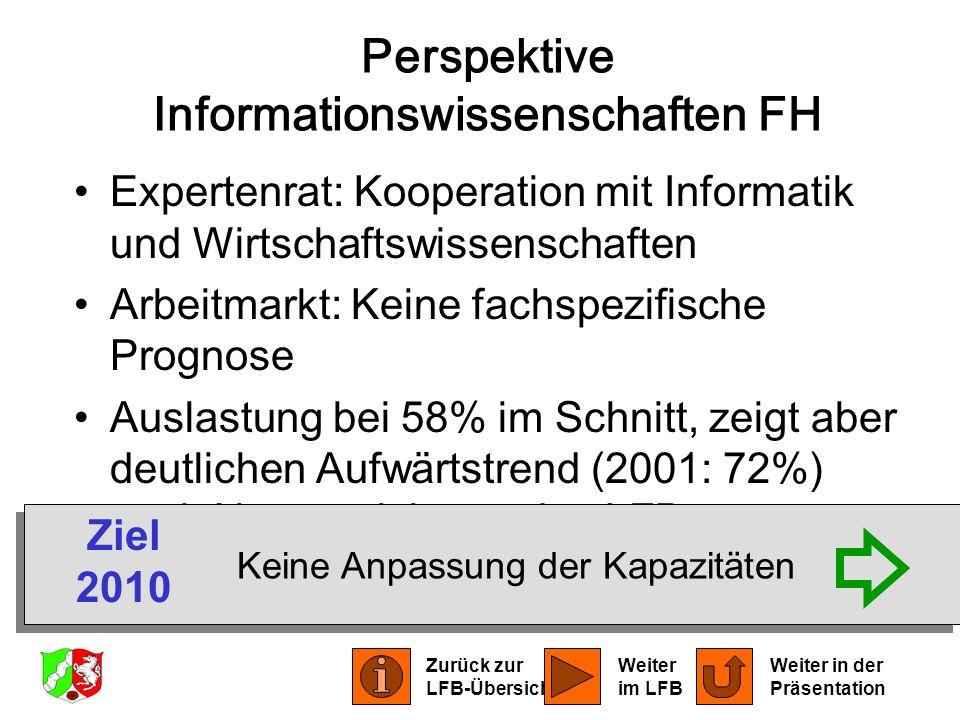 Perspektive Informationswissenschaften FH