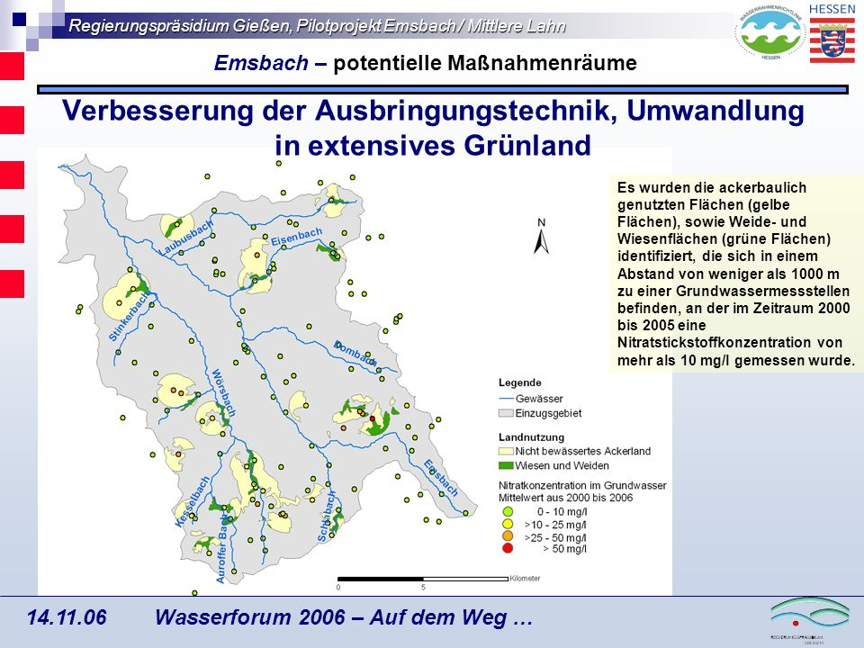 Emsbach – potentielle Maßnahmenräume
