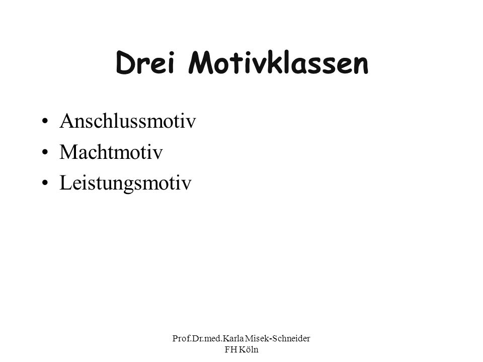 Prof.Dr.med.Karla Misek-Schneider FH Köln