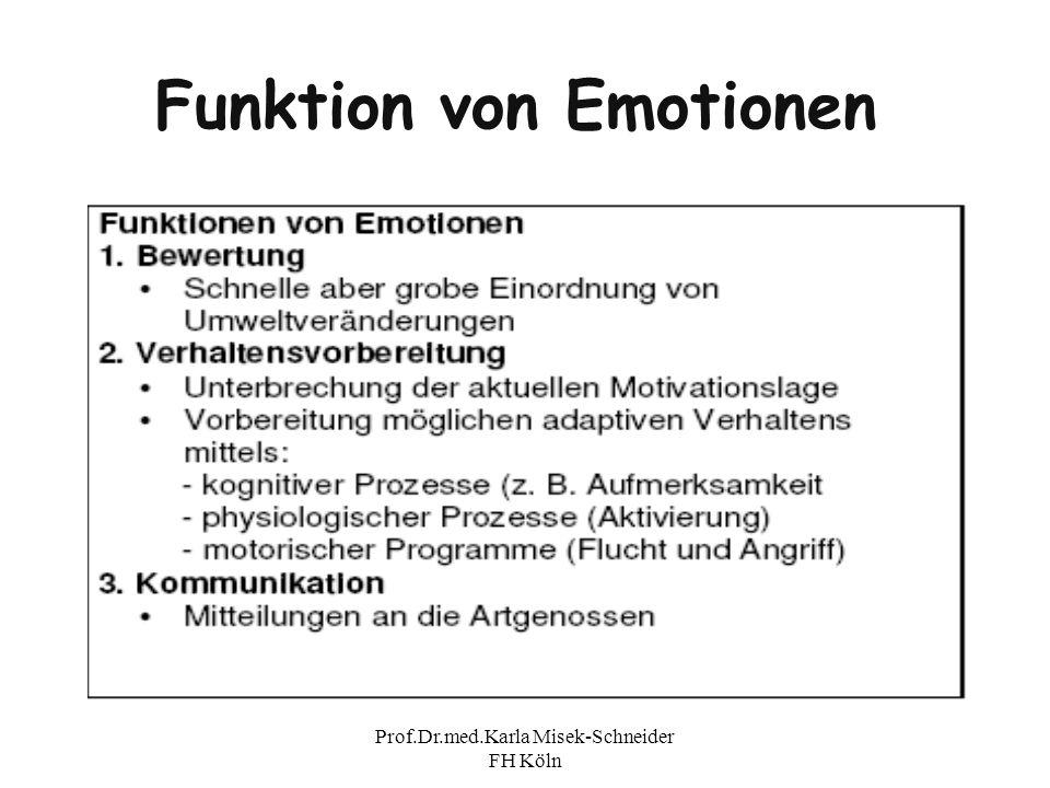 Funktion von Emotionen
