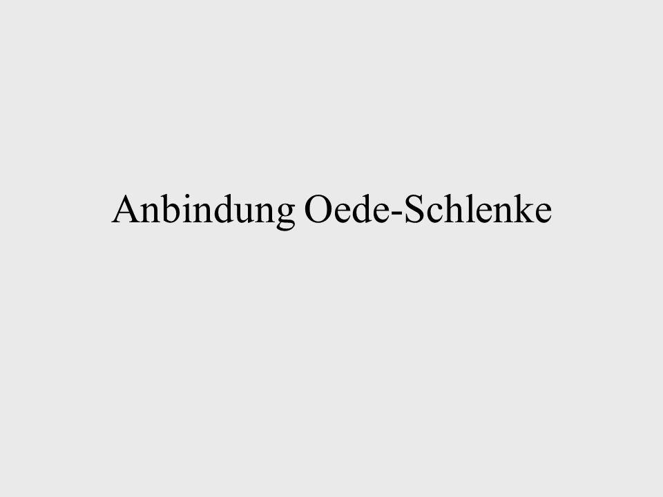 Anbindung Oede-Schlenke