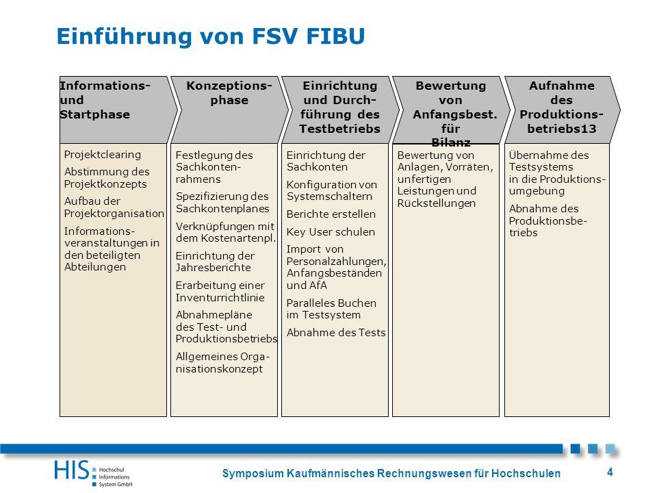 Einführung von FSV FIBU
