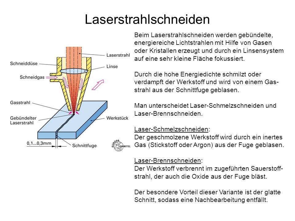 Laserstrahlschneiden
