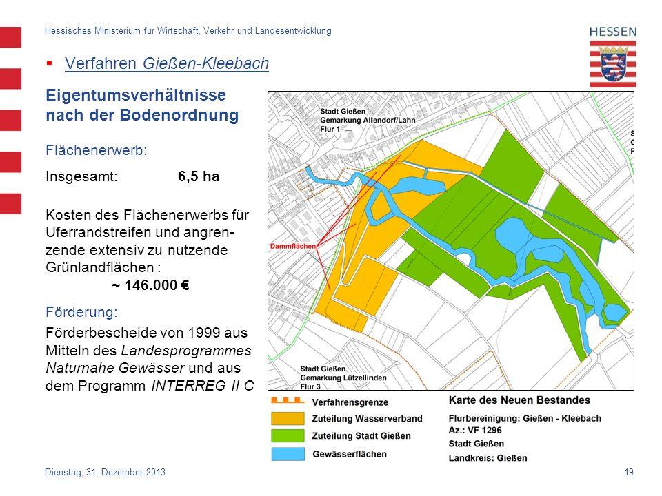 Verfahren Gießen-Kleebach