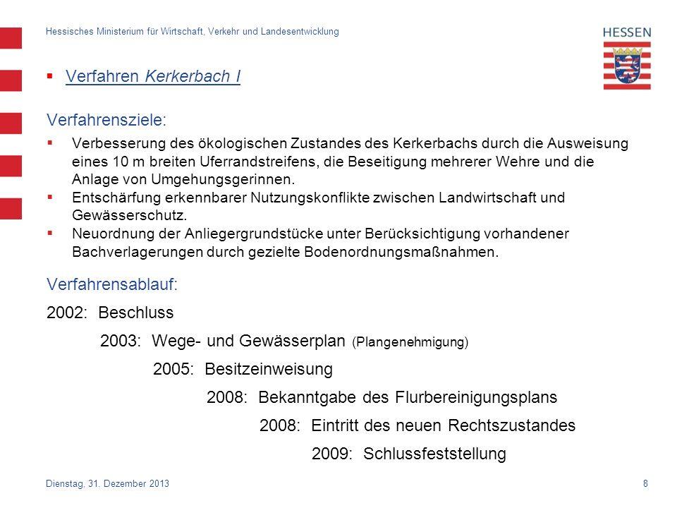 Verfahren Kerkerbach I
