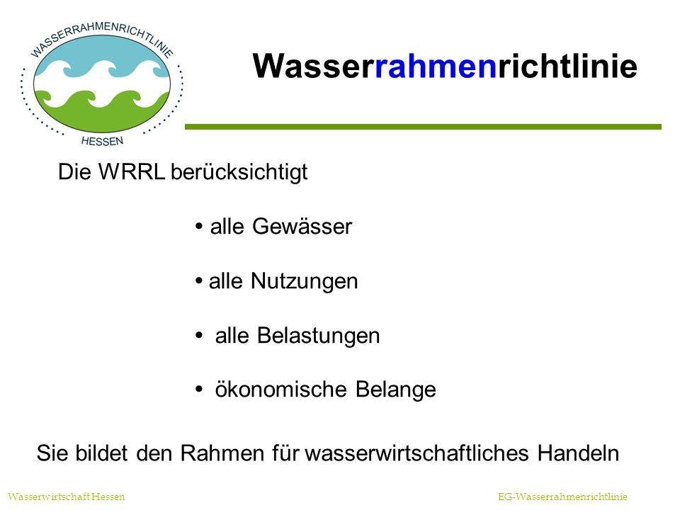 Wasserrahmenrichtlinie