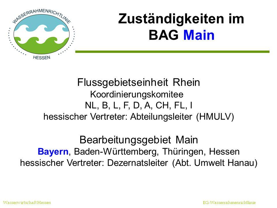 Zuständigkeiten im BAG Main