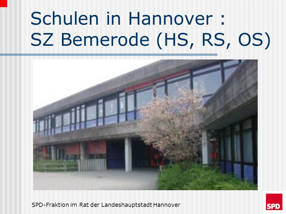 Schulen in Hannover : SZ Bemerode (HS, RS, OS)