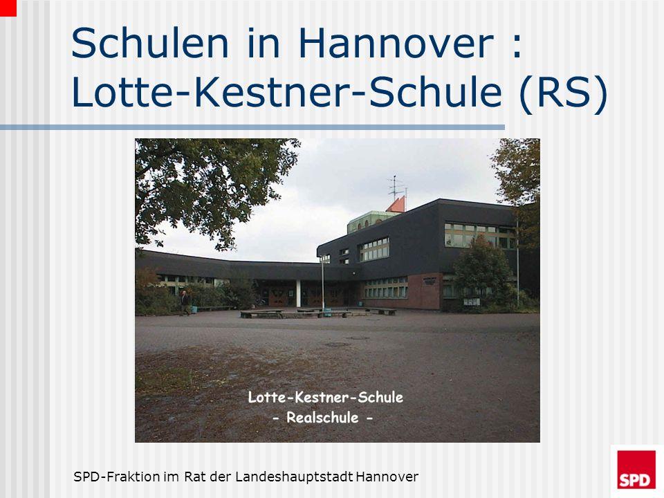 Schulen in Hannover : Lotte-Kestner-Schule (RS)