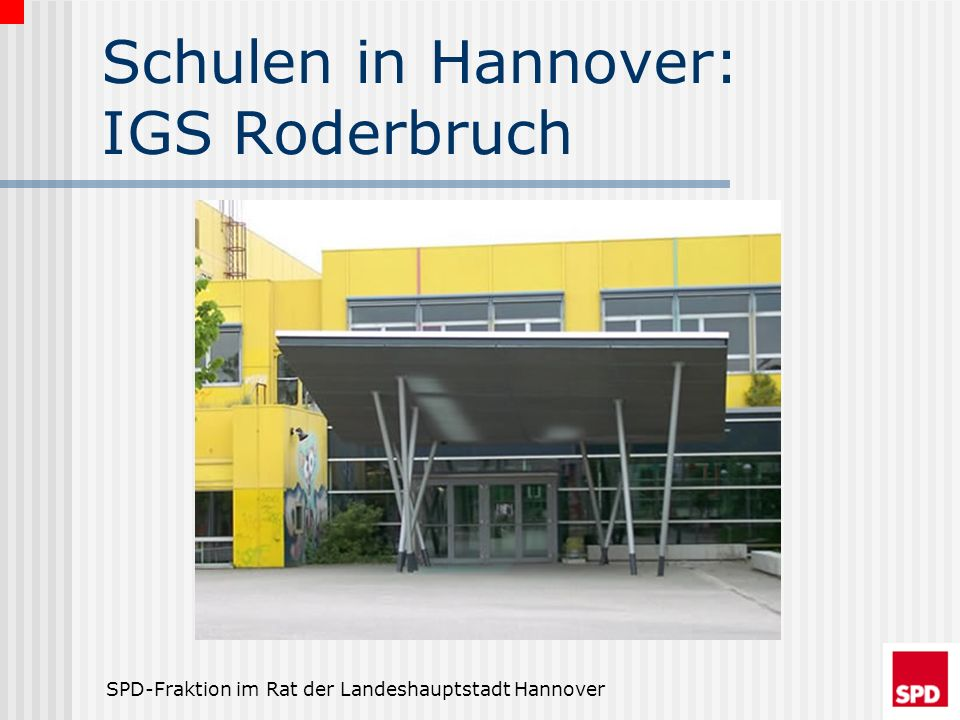 Schulen in Hannover: IGS Roderbruch