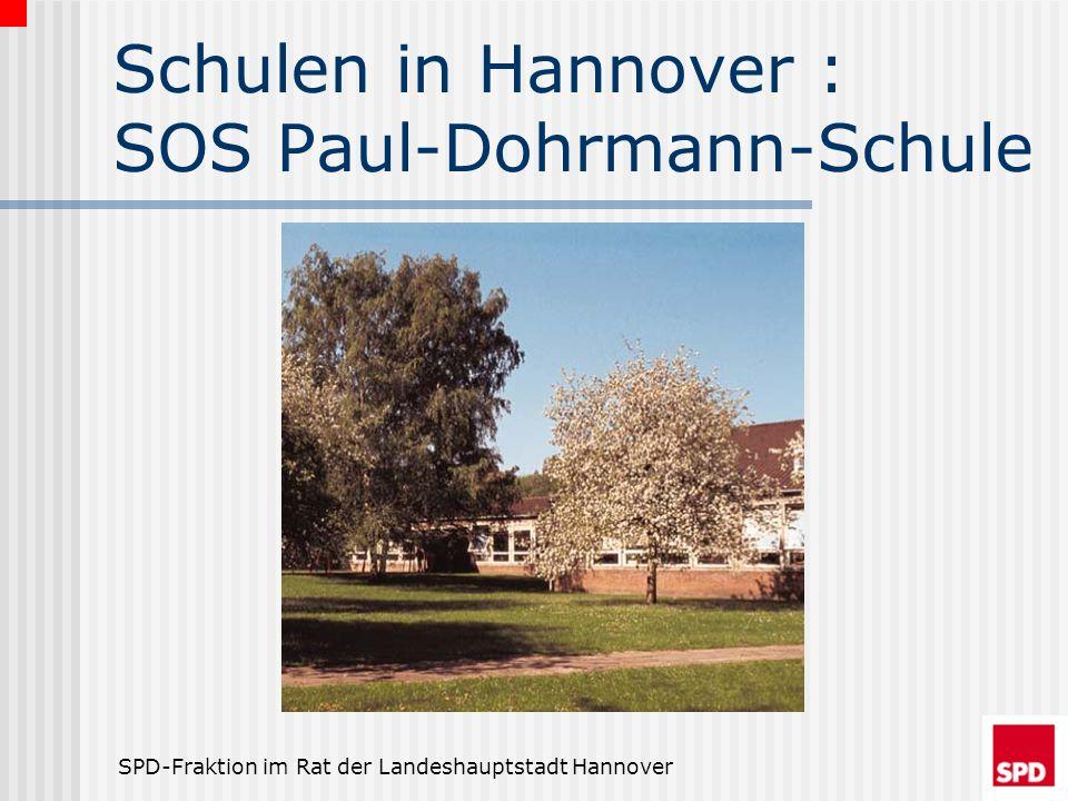 Schulen in Hannover : SOS Paul-Dohrmann-Schule