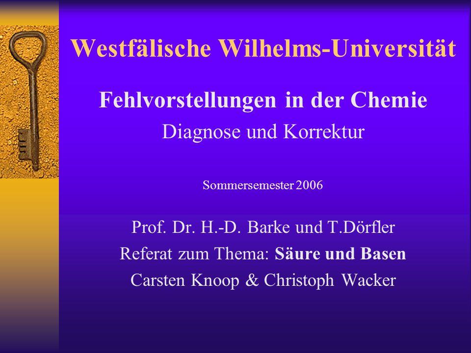 Westfälische Wilhelms-Universität