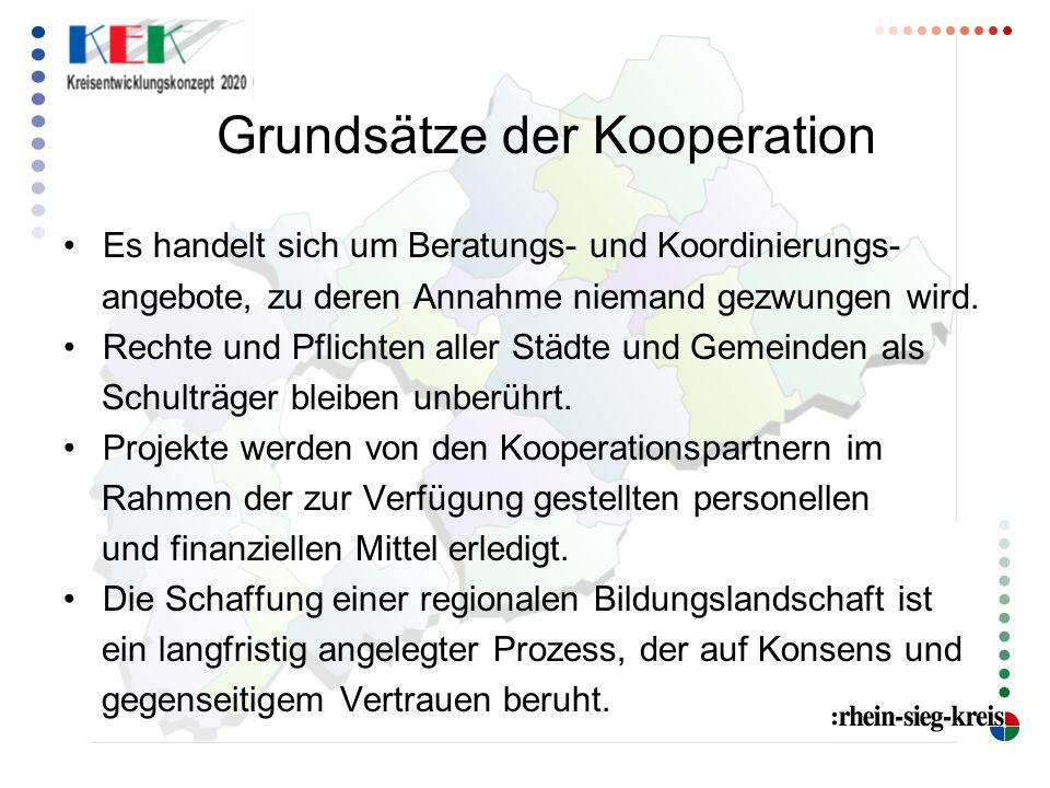 Grundsätze der Kooperation