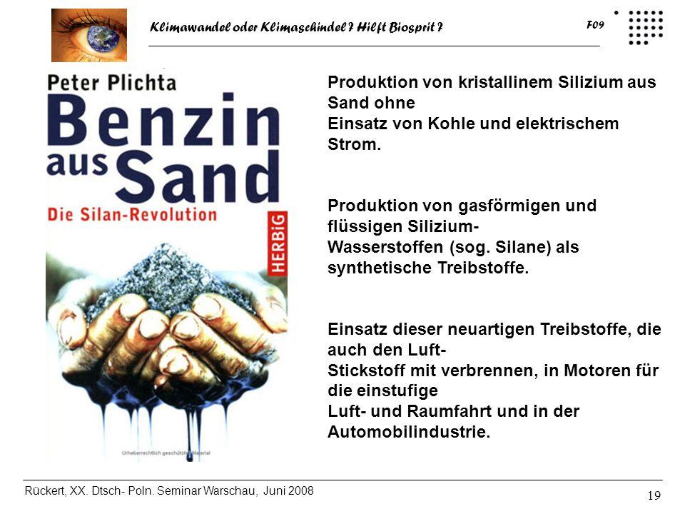 Produktion von kristallinem Silizium aus Sand ohne