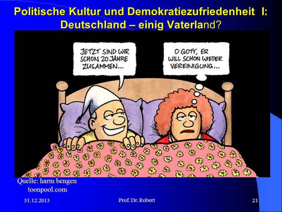 Politische Kultur und Demokratiezufriedenheit I: Deutschland – einig Vaterland