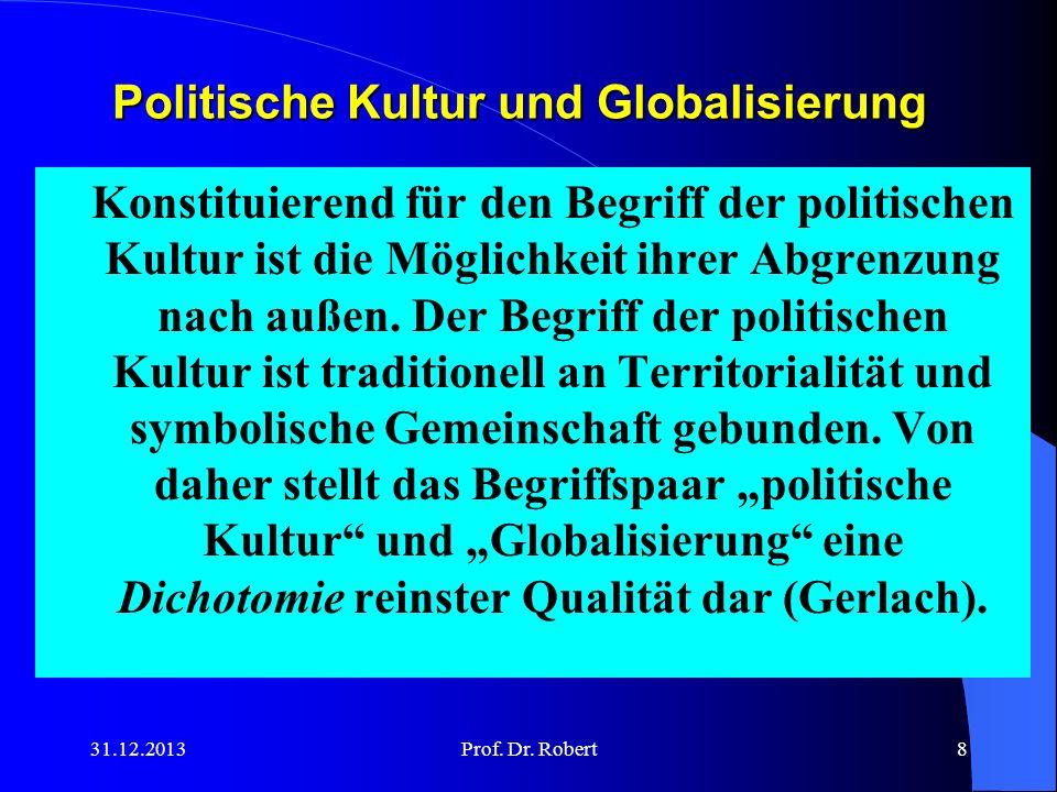 Politische Kultur und Globalisierung