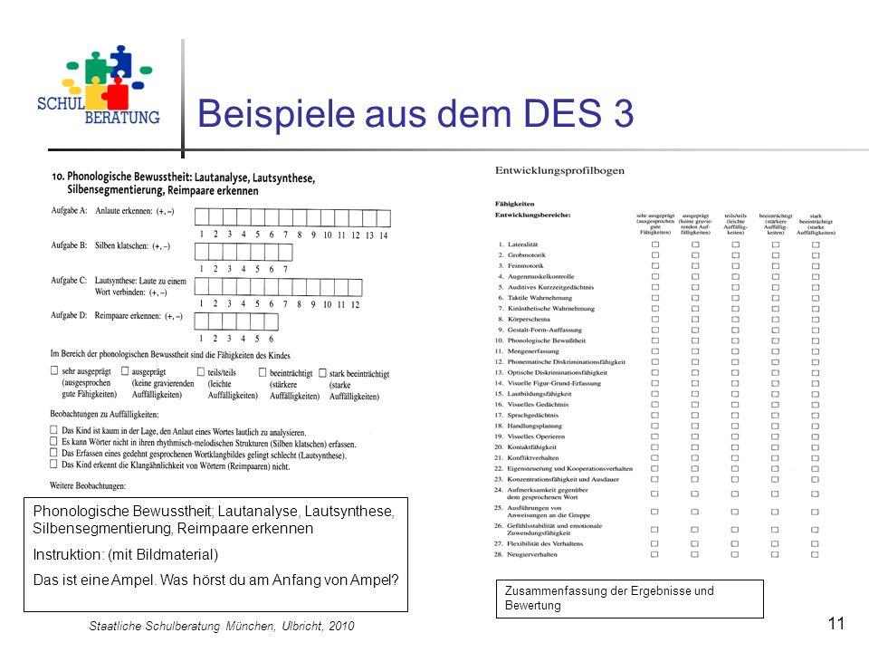 Staatliche Schulberatung München, Ulbricht, 2010
