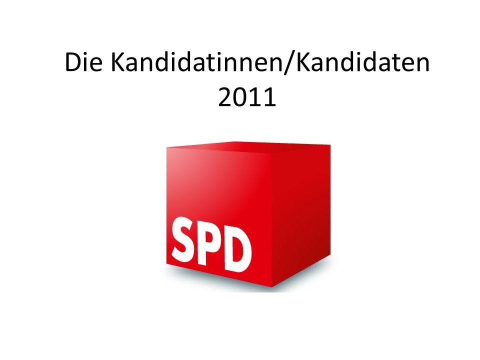 Die Kandidatinnen/Kandidaten 2011