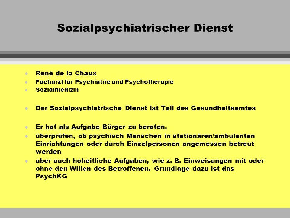 Sozialpsychiatrischer Dienst