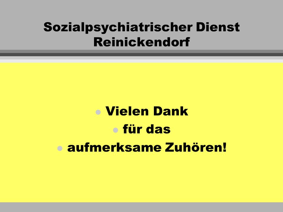 Sozialpsychiatrischer Dienst Reinickendorf