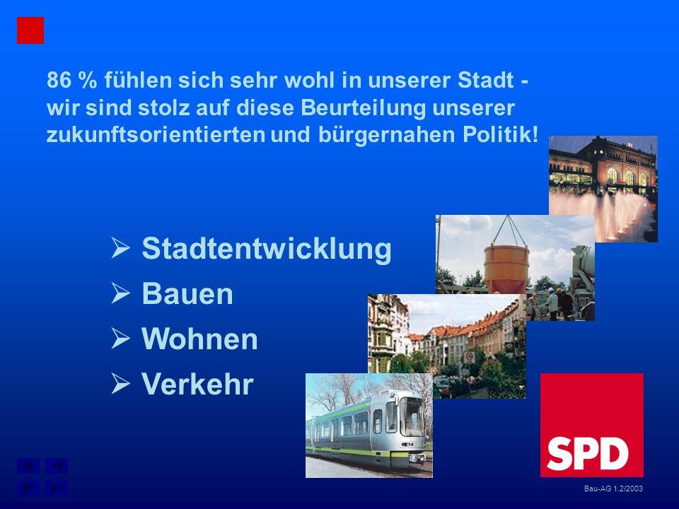  Stadtentwicklung  Bauen  Wohnen  Verkehr