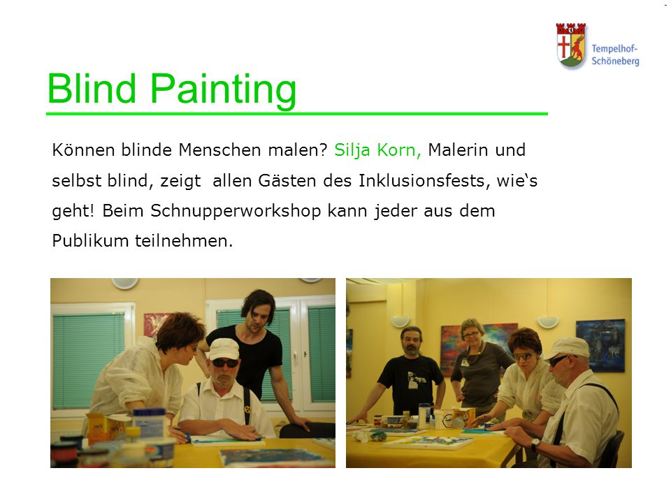Blind Painting