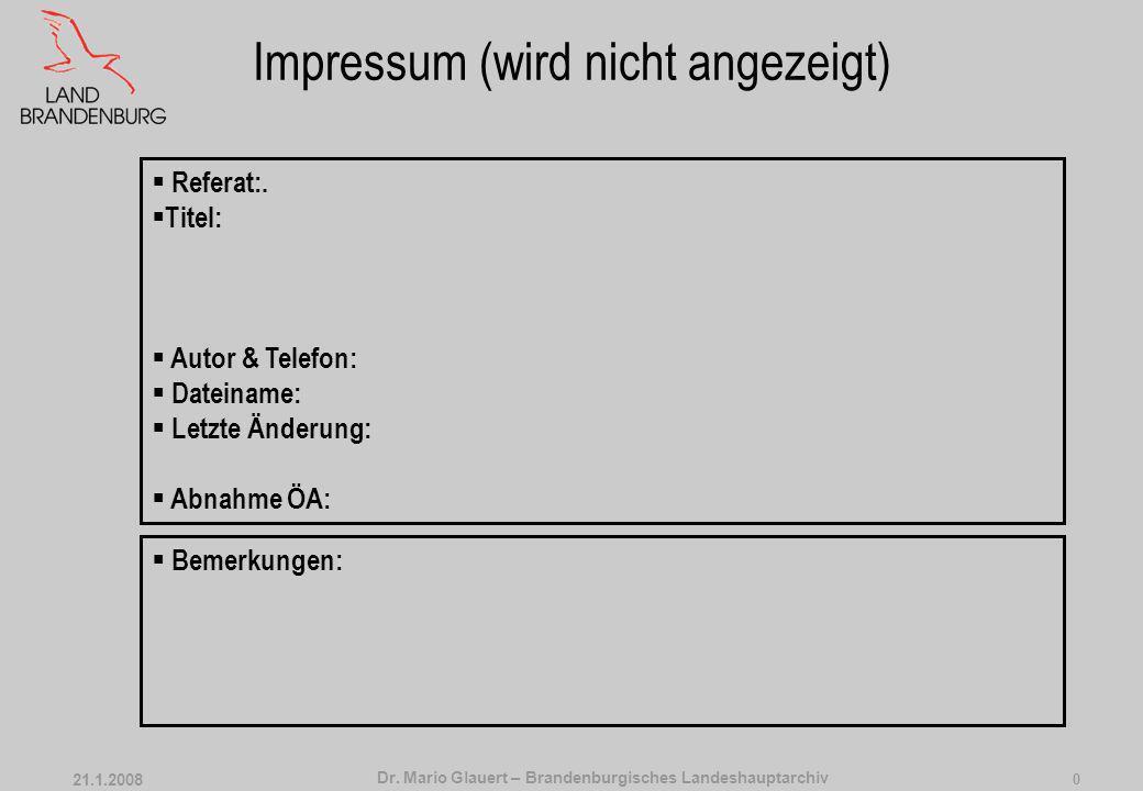 Impressum (wird nicht angezeigt)