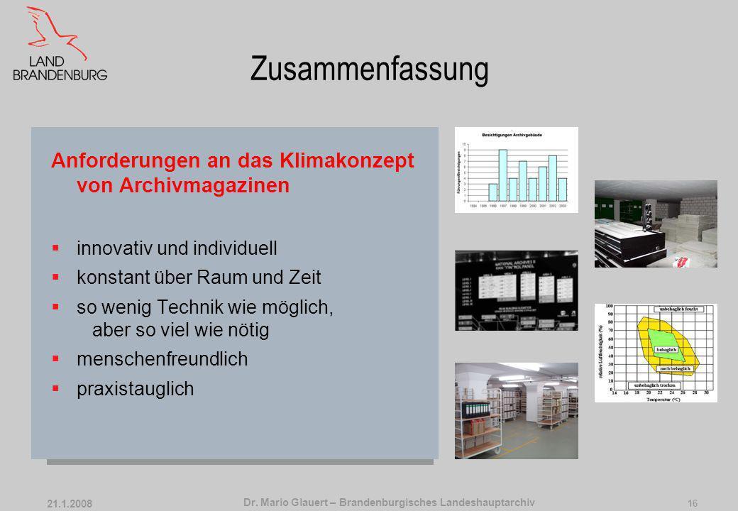 Dr. Mario Glauert – Brandenburgisches Landeshauptarchiv