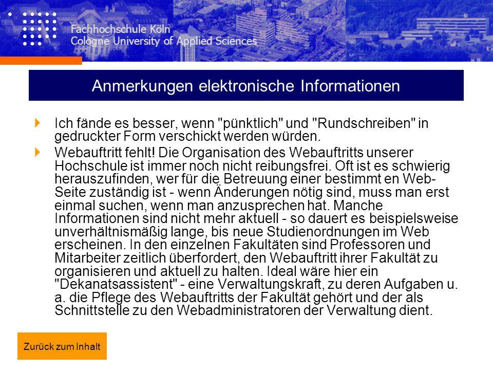 Anmerkungen elektronische Informationen