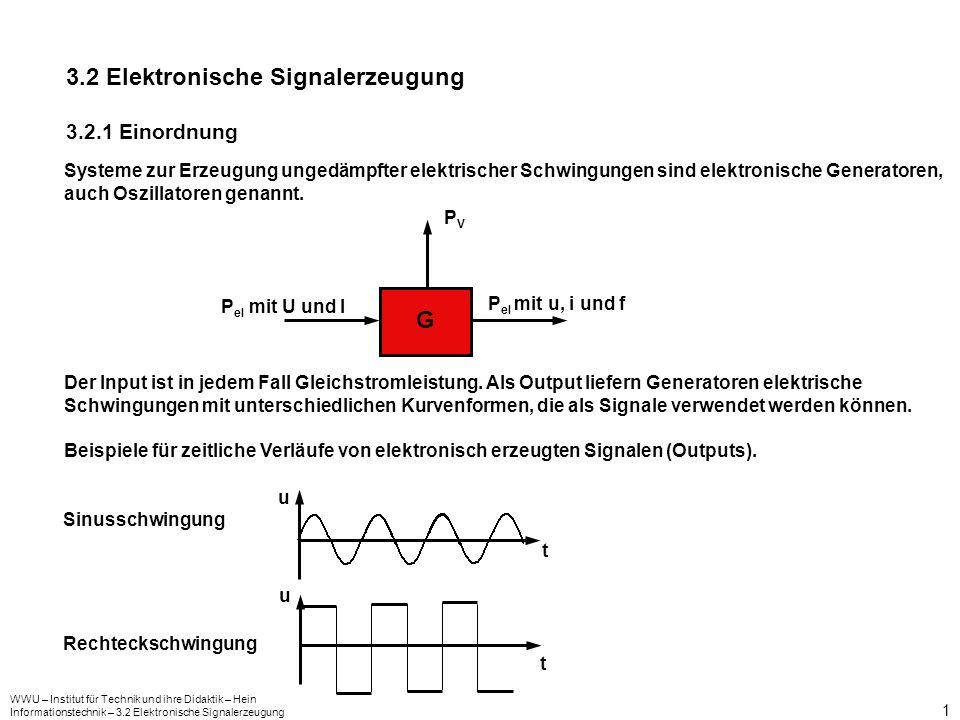 3.2 Elektronische Signalerzeugung
