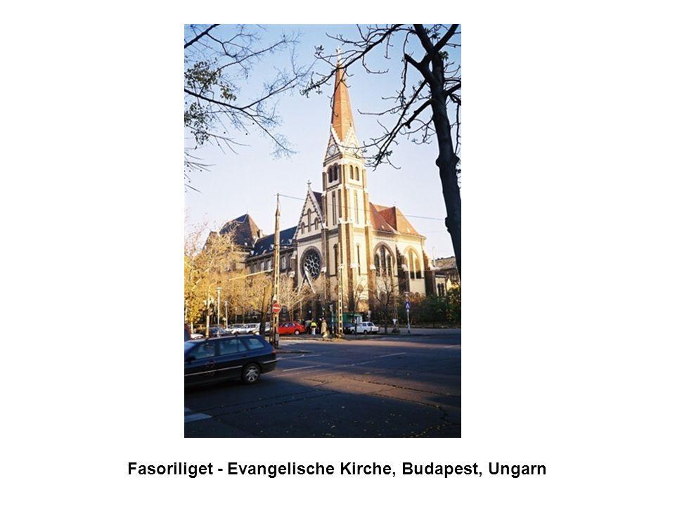 Fasoriliget - Evangelische Kirche, Budapest, Ungarn