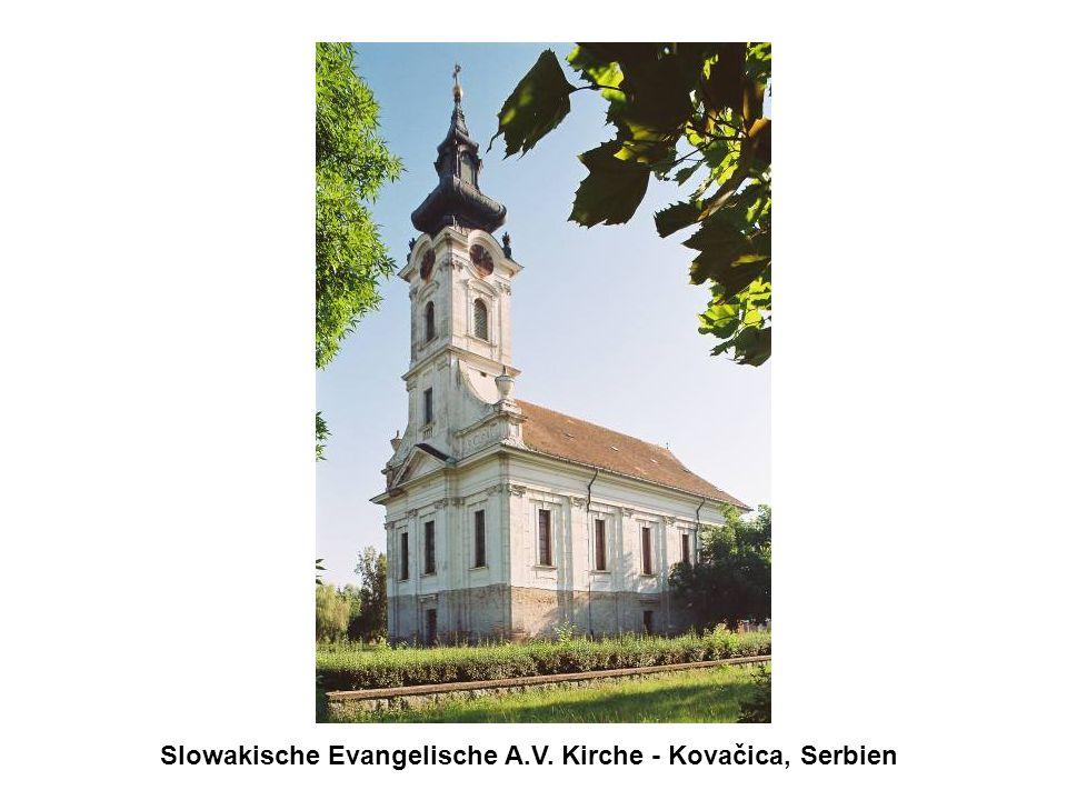 Slowakische Evangelische A.V. Kirche - Kovačica, Serbien