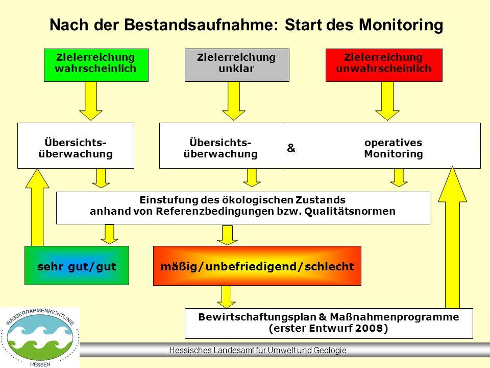 Nach der Bestandsaufnahme: Start des Monitoring