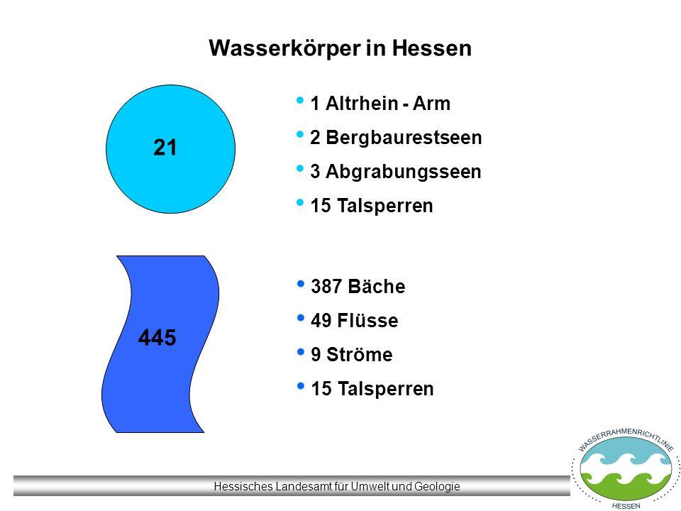 Wasserkörper in Hessen