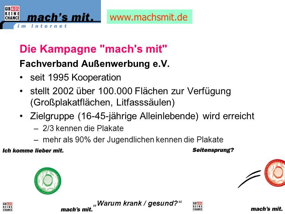Die Kampagne mach s mit www.machsmit.de