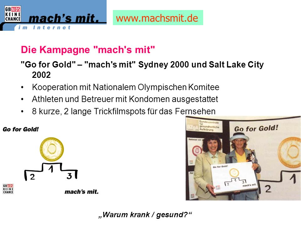 www.machsmit.de Die Kampagne mach s mit