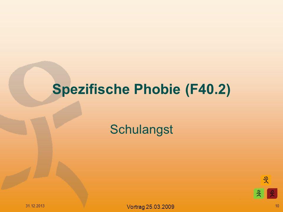 Spezifische Phobie (F40.2)