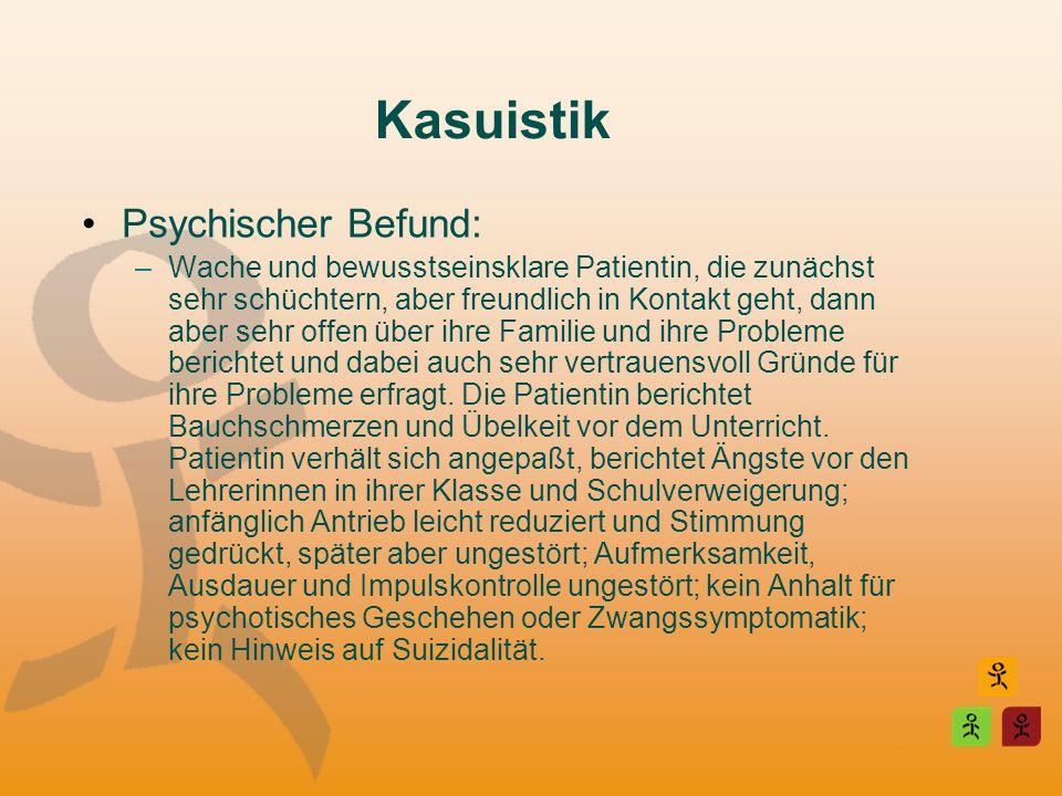 Kasuistik Psychischer Befund: