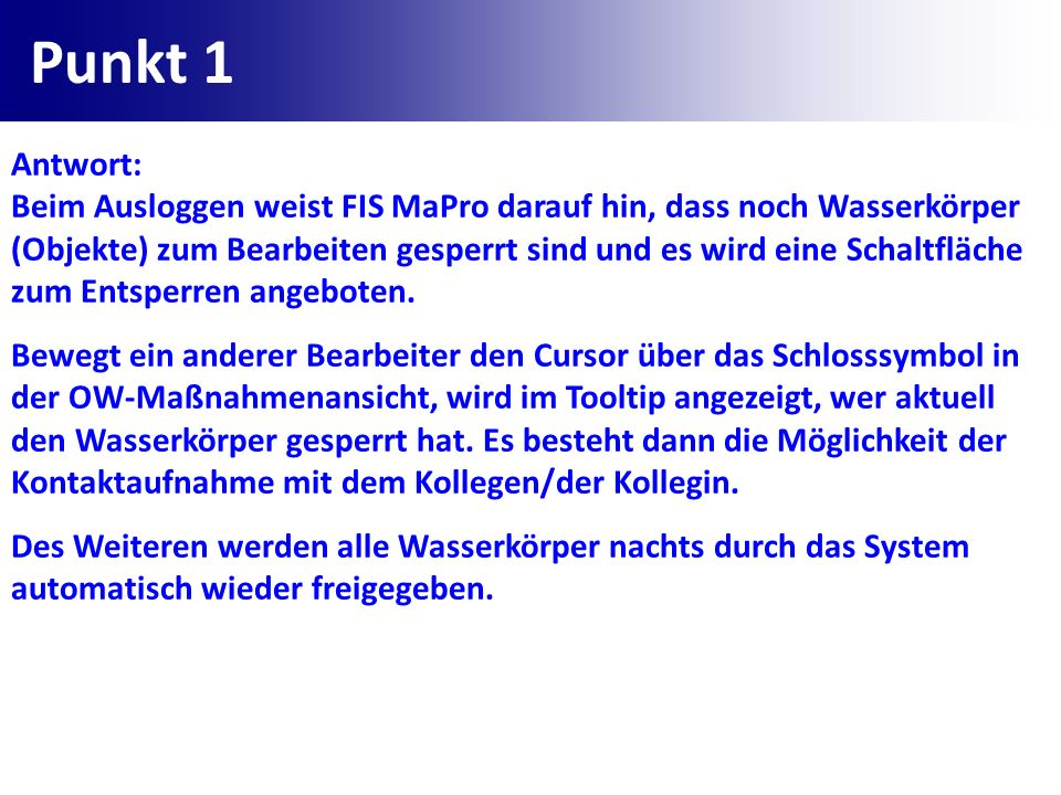 Punkt 1