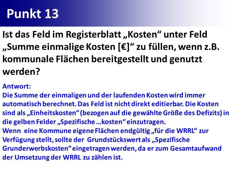 Punkt 13
