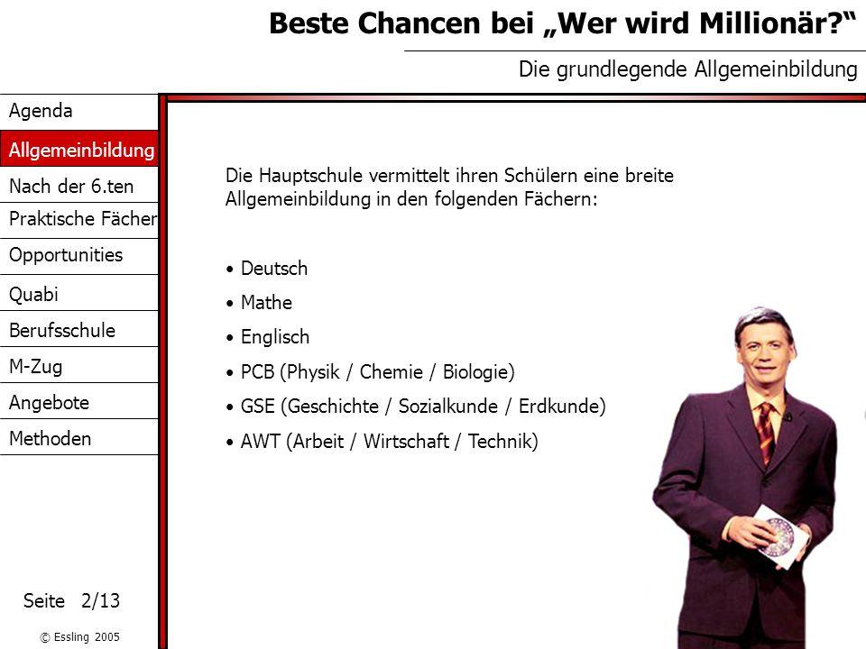 """Beste Chancen bei """"Wer wird Millionär"""